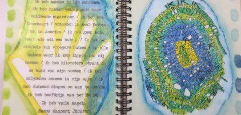MASTERCLASS ART JOURNAL | zaterdag 16 november | een combinatie van schrijven en vormgeven